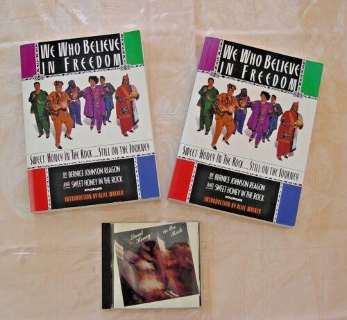 WE WHO BELIEVE IN FREEDOM STILL ON JOURNEY BOOK  & SWEET HONEY IN THE ROCK CD