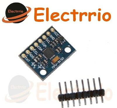 EL0506 MODULO GIROSCOPIO + ACELEROMETRO 9 axis Arduino MPU-9150 GY-9150 GY 9150 segunda mano  Embacar hacia Argentina
