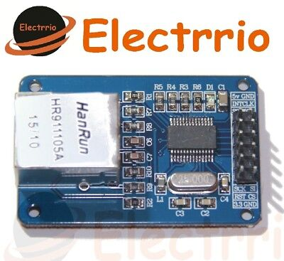 EL0603 MODULO ETHERNET ENC28J60 ARDUINO Red Lan SPI desde España comprar usado  Enviando para Brazil