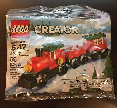 Christmas Train LEGO Creator Set 30543 NEW Sealed Poly bag 2018 Holiday Theme