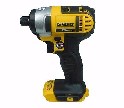 New DeWalt DCF885B 20-Volt Max Lithium-Ion 1/4 in. Cordless Impact Driver (Bare)
