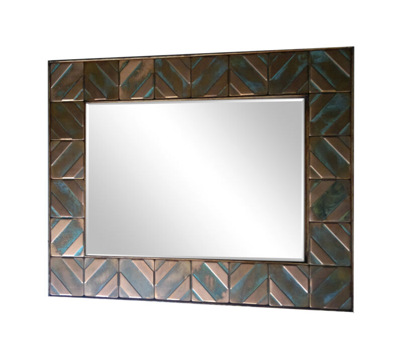 copper frame for mirrors