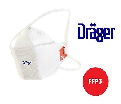 3x Dräger X-plore 1930 FFP3 NR D ohne Ventil Mundschutz Maske Atemschutzmaske