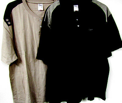 Neu Herren Pyjama Schlafanzug schwarz o. braun Short + Shirt große Gr. 60/62 3XL