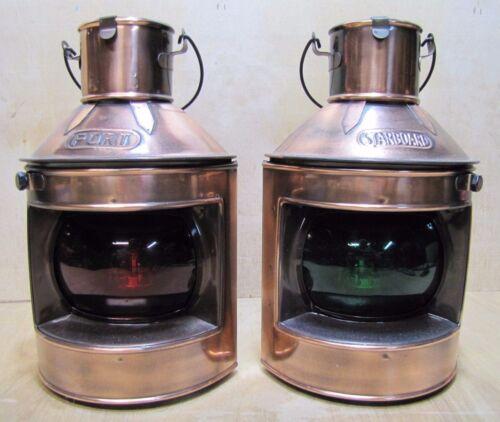 PORT & STARBOARD HONG KONG Vintage Nautical Oil Lights Decorative Lamps *NOAG