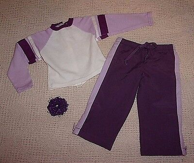 "AUTHENTIC MY TWINN KNIT JERSEY AND NYLON PANTS OUTFIT FOR 23"" DOLLS"