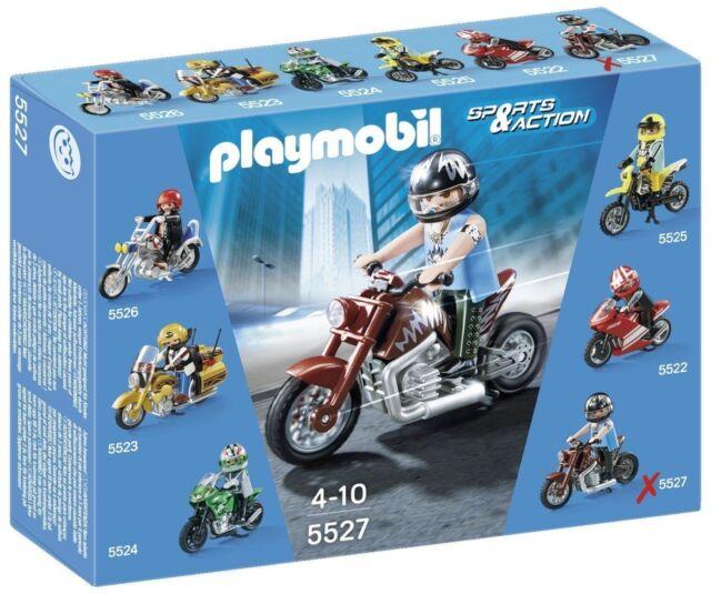 Playmobil Sports & Action 5527 - Muscle Bike Motorrad NEU OVP