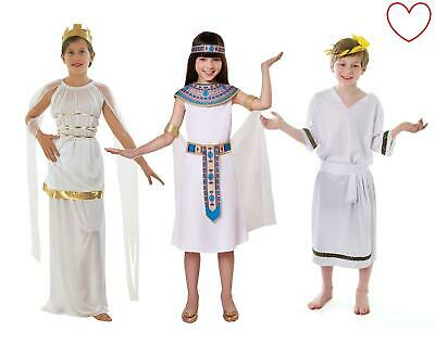 Fancy Dress Childrens Greek Egyptian Costume Book Week](Book Costumes)