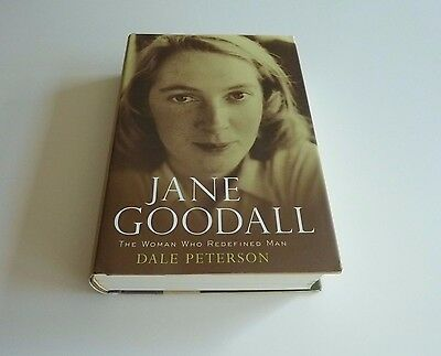 Jane Goodall   The Woman Who Redefined Man By Dale Peterson Hc Dj 1St 1St