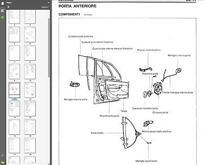 Hyundai Atos Prime 2000-2007 manuale officina workshop