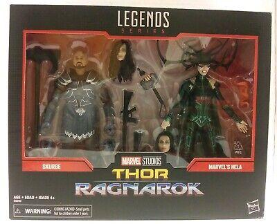 Marvel Legends Thor Ragnarok Skurge & Hela action figure 2 pack