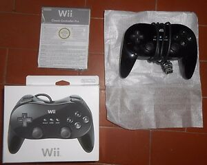 GENUINE-BLACK-OFFICIAL-NINTENDO-CLASSIC-PRO-CONTROLLER-JOYPAD-BOXED