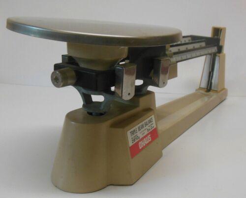 Vintage OHAUS Model 700 Series Triple Beam Balance Scale 2,610g 5lb 2oz