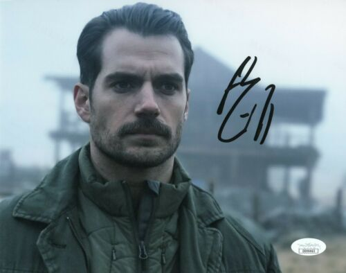Henry Cavill Mission Impossible Autographed Signed 8x10 Photo JSA COA EF161