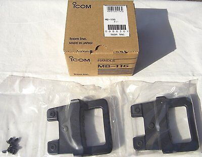 Icom MB-116 handle for IC-7200 Japan Import Free shipping Last 1 item , used for sale  Shipping to United States