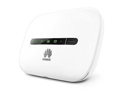 Huawei E5330 Unlocked Sim Free 3G 4G HSPA+ Mobile MiFi WiFi Wireless Modem White