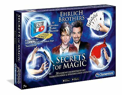 Secrets of Magic Clementoni 59048 Ehrlich Brothers Zauberkasten NEU OVP