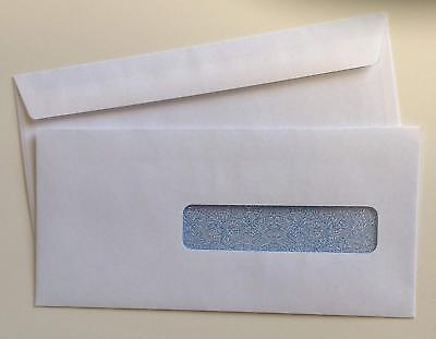 CMS-1500 Claim Form Self-Seal Window Envelopes 4-1/8 x 9-1/2 Inche 5 boxes
