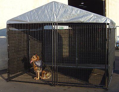 Big Dog Kennel Cage x Pet Wind Screen Extra Large Outdoor Heavy Duty Portable NE