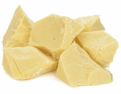 Raw 100% Pure Cocoa Butter Chunks by Its Delish, 10 lbs bulk