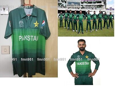 Pakistan Cricket Team World Cup 2019 ODI Shirt T-Shirt Jersey (Odi Cricket)