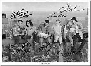 FRIENDS-FULL-CAST-SIGNED-AUTOGRAPH-PHOTO-PRINT-POSTER