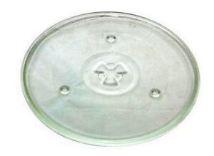 Universal Microwave Glass  Turntable Plate  Dish  270mm  10.5 inches