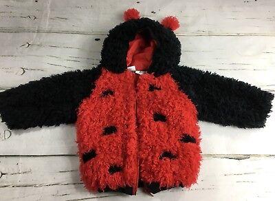 Celebration Halloween 24 Month Toddler Dress Up Lady Bug Costume - Zip Hood Warm - Celebration Halloween Costumes