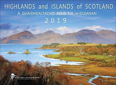 Highlands and Islands of Scotland Calendar 2019 Travel & Transport Month To View