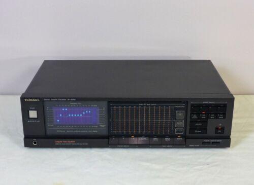Technics SH-8066 12 Band Graphic Equalizer, Spectrum Analyzer, Reconditioned