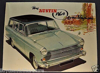 1962-1963 Austin A60 Countryman Sales Brochure Folder Excellent Original