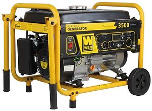 WEN 56352 3500 Watt Generator with Wheel Kit
