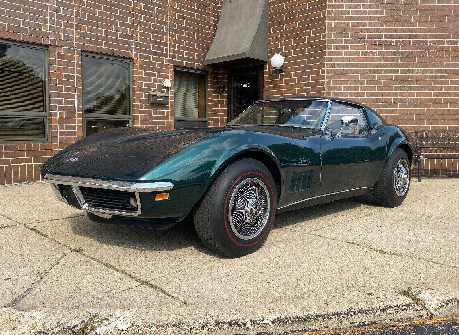 1969 Green Chevrolet Corvette     C3 Corvette Photo 1