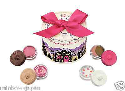 New Anna Sui Makeup Christmas Set Eyeshadow Cheek Lip Beauty Cute Gift 02 In Box