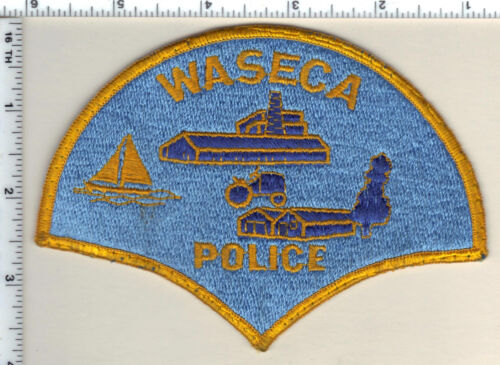 Waseca Police (Minnesota)  Shoulder Patch new 1991