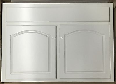 (TBA All Wood Deluxe Oak Bathroom Vanity Cabinet White LDW-3621)