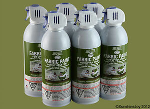 upholstery fabric spray paint 6 sage green car seat sofa chairs ebay. Black Bedroom Furniture Sets. Home Design Ideas