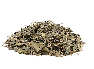Dragonwell Green Tea - 12 Ounces - First-Cutting Grade, Loose Leaf Bulk (12 Ounce Loose Tea)