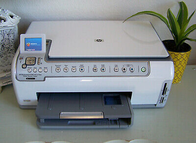 HP Photosmart C5180 All-In-One Inkjet Printer, Good Print Test and See