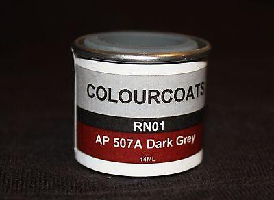 Colourcoats Ap 507A 507B Home Fleet Grey  Formally Dark Admiralty Grey    Rn01