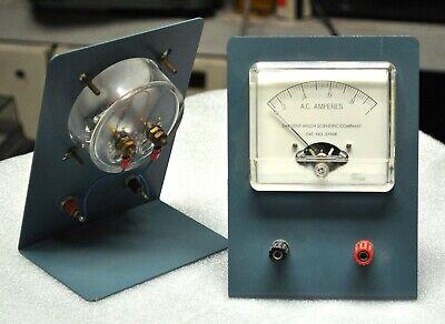 Sargent Welsh Scientific Ac Ammeter Model 2760e 0-1 Amp Vintage School Surplus