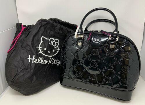 Sanrio Hello Kitty Loungefly Black Embossed Handbag