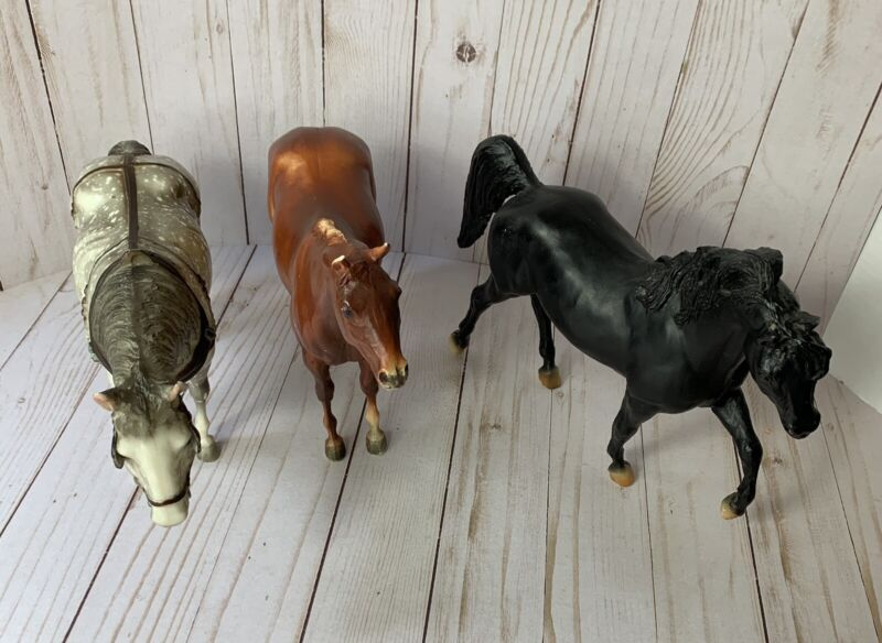 BREYER Horses - Model Toy Horses - Lot of 3