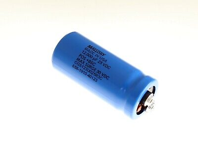 12000uf 25v Large Can Electrolytic Capacitor 25 Volts 12000mfd 25vdc 12000