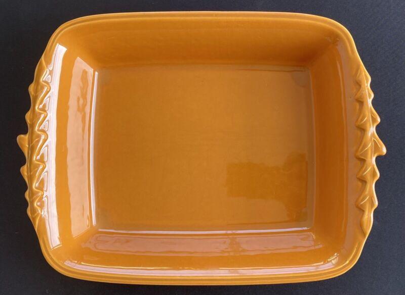 "Appolia Baking Dish - France - 7 1/2"" x 9 1/2"" x 2 1/2"" - Maroon / Burnt Orange"