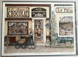 La Shoppe Chocolat Limited Edition Wall Decor Print