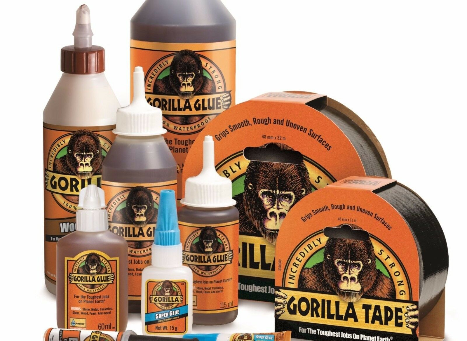 Details about Genuine Gorilla Super Glue & Gel Multi-Purpose Brush Nozzle  Wood Epoxy Adhesive