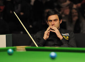 RONNIE O'SULLIVAN ART PRINT PHOTO POSTER SNOOKER A4 260GSM