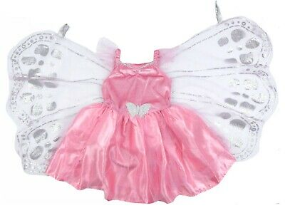 Little Girls Dressing Up Outfit With Detachable Butterfly Wings