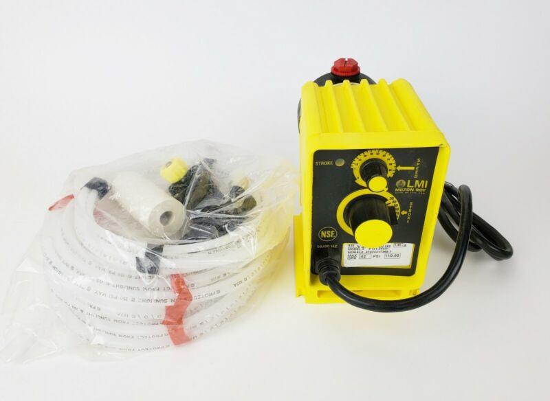 LMI Milton Roy P131-392SI Chemical Metering Pump, New!